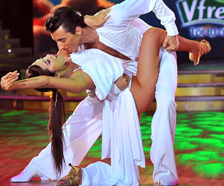 Dance sport contestant gets dressing down over sexy outfit