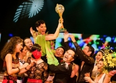 Thu Minh crowned in Dancing with the Stars finale