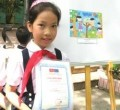 Primary pupil wins art prize