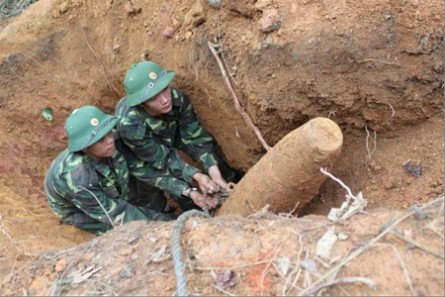 Quang Tri struggles with unexploded ordnance clearance