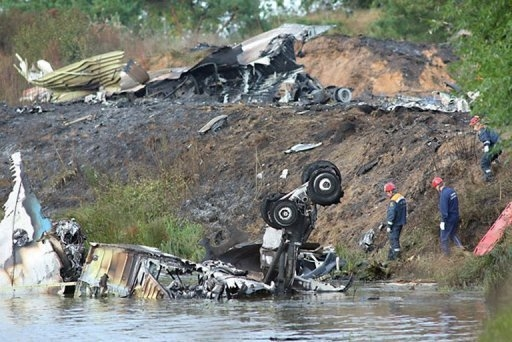 Hockey world stunned after Russia air disaster